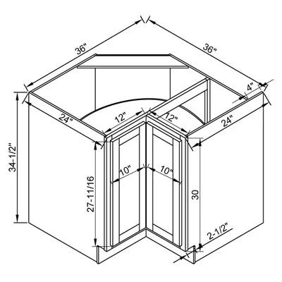 高配橱柜设计效果图