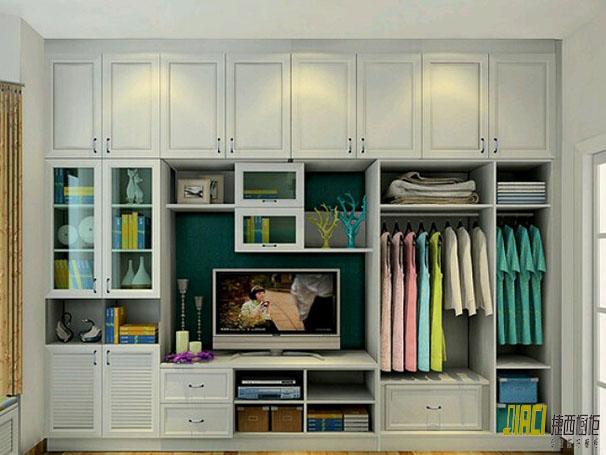 舒畅男人装_为什么衣柜不要装到顶?不是可以收纳和防尘吗?